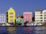 Dutch Gable Architecture of Willemstad, Curacao, Caribbean Photographic Print by Greg Johnston