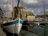 Old Port, Honfleur, Normandy, France Photographic Print by David Barnes