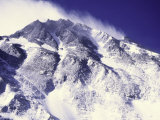 Summit of Mt. Everest Seen from the North Side, Tibet Print by Michael Brown