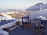 View Toward Caldera, Imerovigli, Santorini, Greece Photographie par Connie Ricca