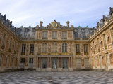 Marble Courtyard, Versailles, France Photographic Print by Lisa S. Engelbrecht