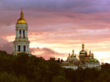 A Principal Bell Tower and Assumption Cathedral of the Kiev Pechersk Monastery (11th Cent.) Photographic Print