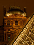 Louvre Museum at Night, Paris, France Photographic Print by Lisa S. Engelbrecht
