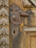 Old Door Handle, Ceske Budejovice, Czech Republic Photographic Print by Russell Young