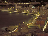 Malecon at Night, Havana, Cuba Photographic Print by Maresa Pryor