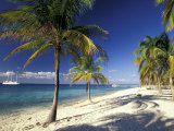 Tropical Beach on Isla de la Juventud, Cuba Fotoprint van Gavriel Jecan