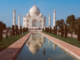 Taj Mahal, Uttar Pradesh, India Fotografie-Druck von Dee Ann Pederson