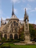 Flying Buttresses of Notre-Dame, Paris, France Photographic Print by Lisa S. Engelbrecht