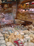 Cheese and Wine Variety in Shop, Paris, France Photographic Print by Lisa S. Engelbrecht