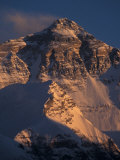 Mt. Everest at Sunset From Rongbuk, Tibet Photographic Print by Vassi Koutsaftis