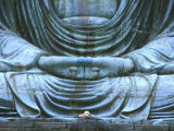 Great Buddha Detail, Kotokuji Temple, Kamakura, Japan Photographic Print by Rob Tilley