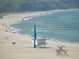 Beach, Warnemunde, Germany Photographic Print by Russell Young