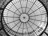 Glass Dome of the Stock Exchange Borse, Zurich, Switzerland Photographic Print by Walter Bibikow