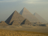 Giza Pyramids Complex, Egypt Photographic Print by Claudia Adams