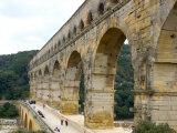 Pont du Gard, Roman aqueduct, France Photographic Print by Lisa S. Engelbrecht