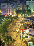 Overview of La Pantiero, Cannes, France Photographic Print by Walter Bibikow