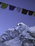 Prayer Flags, Nepal Posters by Michael Brown