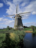Windmill, Netherlands Photographic Print by David Barnes