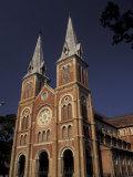 Notre Dame Cathedral, Saigon, Vietnam Photographic Print by Keren Su