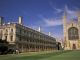 Kings College, Cambridge, England Photographic Print by Nik Wheeler