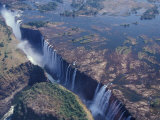 Chutes de Victoria, Zimbabwe Photographie par William Sutton