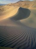 Khongoryn Sand Dunes in Gurvansaikhan National Park, Gobi Desert, Mongolia Photographic Print by Gavriel Jecan