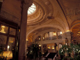 Interior Details of Hotel de Paris, Monte Carlo, Monaco Photographic Print by Nik Wheeler