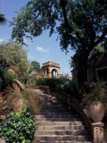 Public Garden of Taormina, Sicily, Italy Photographic Print by Connie Ricca