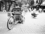 Cyclo in Old Hanoi, Vietnam Photographic Print by Walter Bibikow