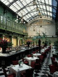 Grand Hotel Krasnapolsky and Winter Garden Restaurant, Amsterdam, Holland Photographic Print by Nik Wheeler