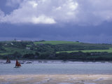 View of Camel River from Padstow, Cornwall, England Photographic Print by Nik Wheeler