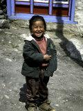 Young Girl, Nepal Reprodukcja zdjęcia autor Michael Brown