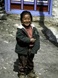 Young Girl, Nepal Poster by Michael Brown