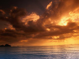 Sunset Over the Andaman Sea, Ao Nang, Thailand Photographic Print by John Elk III