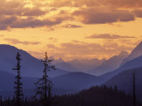 Sunset in Banff National Park, Alberta, Canada Photographic Print by Janis Miglavs