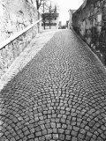 Cobbled Street, Lindenhof, Switzerland Photographic Print by Walter Bibikow