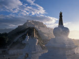 Potala at Sunrise, Lhasa, Tibet Photographic Print by Vassi Koutsaftis