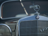 Antique Mercedes, Germany Fotografiskt tryck av Russell Young