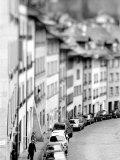 Old City Buildings in Berne, Switzerland Fotografie-Druck von Walter Bibikow