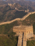 Great Wall at Sunset, Jinshanling, China Photographic Print by Keren Su