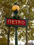 Metro, Paris, France Photographic Print by Lisa S. Engelbrecht