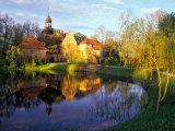 Straupe Castle, Gauja National Park, Latvia Impressão fotográfica por Janis Miglavs