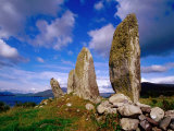 Standing Stones, Eightercua Stone Row, Waterville, Ireland Photographic Print by Richard Cummins
