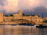 Exterior of Bodrum Castle of the Knights of St. John, Bodrum, Turkey Photographic Print by John Elk III