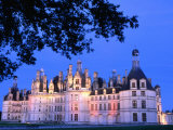 Chateau Chambord in Loire Valley, Chambord, France Photographic Print by John Banagan