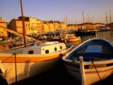 Boats at Port, St. Tropez, France Photographie par Barbara Van Zanten