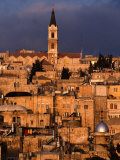 Buildings in the Old City, Jerusalem, Israel Photographic Print by Michael Coyne