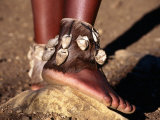 Dancer's Ankle Decorations, Zululand, South Africa Photographic Print by Ariadne Van Zandbergen