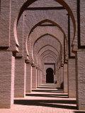 Prayer Hall of the Tin Mal Mosque, Morocco Photographic Print by John Elk III