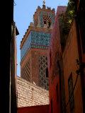 Kasbah Mosque, Marrakesh, Morocco Fotografie-Druck von Doug McKinlay